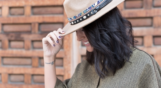 El sombrero de ETNA&CHRIS con toques étnicos